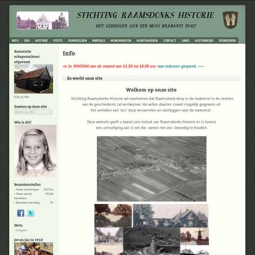 Stichting Raamsdonks Historie
